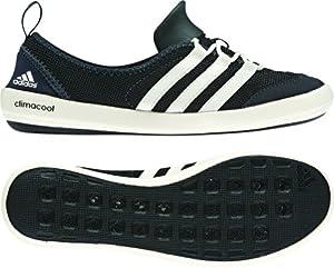 adidas Outdoor climacool Boat Sleek Water Shoe - Women's Black/Chalk/Dark Shale 8.5
