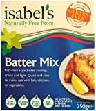 Isabels Brazilian Flavours Gluten Free Batter Mix 250 g (Pack of 4)