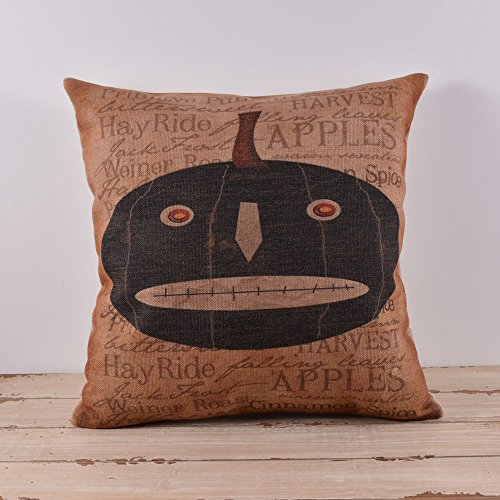 45X45Cm Halloween All Hallows' Eve Lantern Pumpkin Skull Cushion Covers Pillow Cases Kid Decor With Placemat front-327761