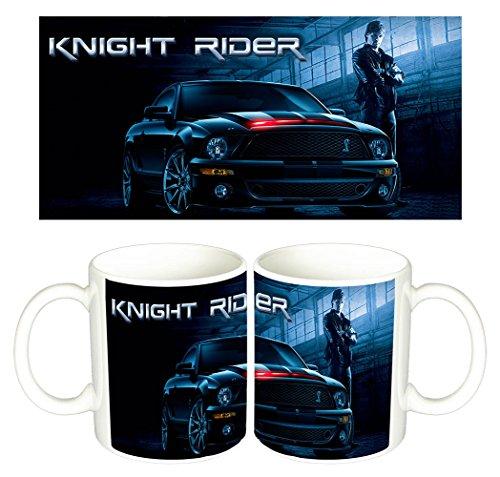 El Coche Fantastico Knight Rider Justin Bruening Tazza Mug