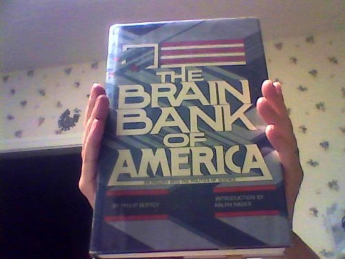 The brain bank of America: An inquiry into the politics of science PDF