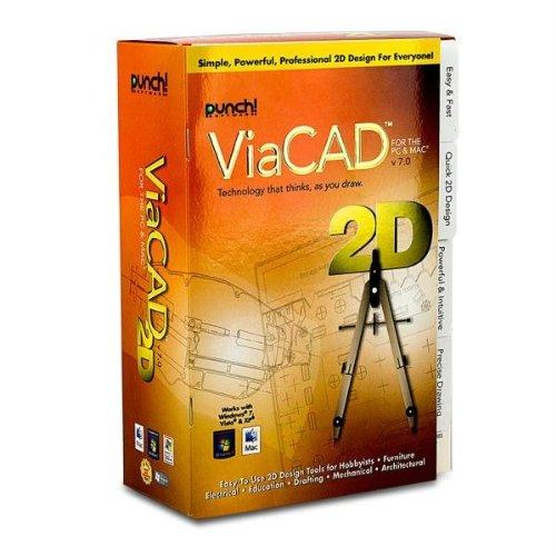 Encore Software 267622 Punch Viacad 2D Pc & Mac V7 front-180444