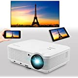 HD Projector Home Theater Cinema LCD Projector Android Wifi 3600 Lumens 1280X800 Native USB WUXGA AGV SD AV For...