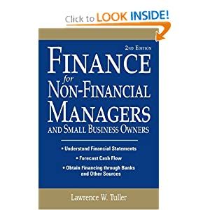 Finance for Non-Financial Managers Lawrence Tuller