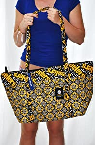 Pittsburgh Steelers NFL Official Hugh Special Fabric Large Tote Bag