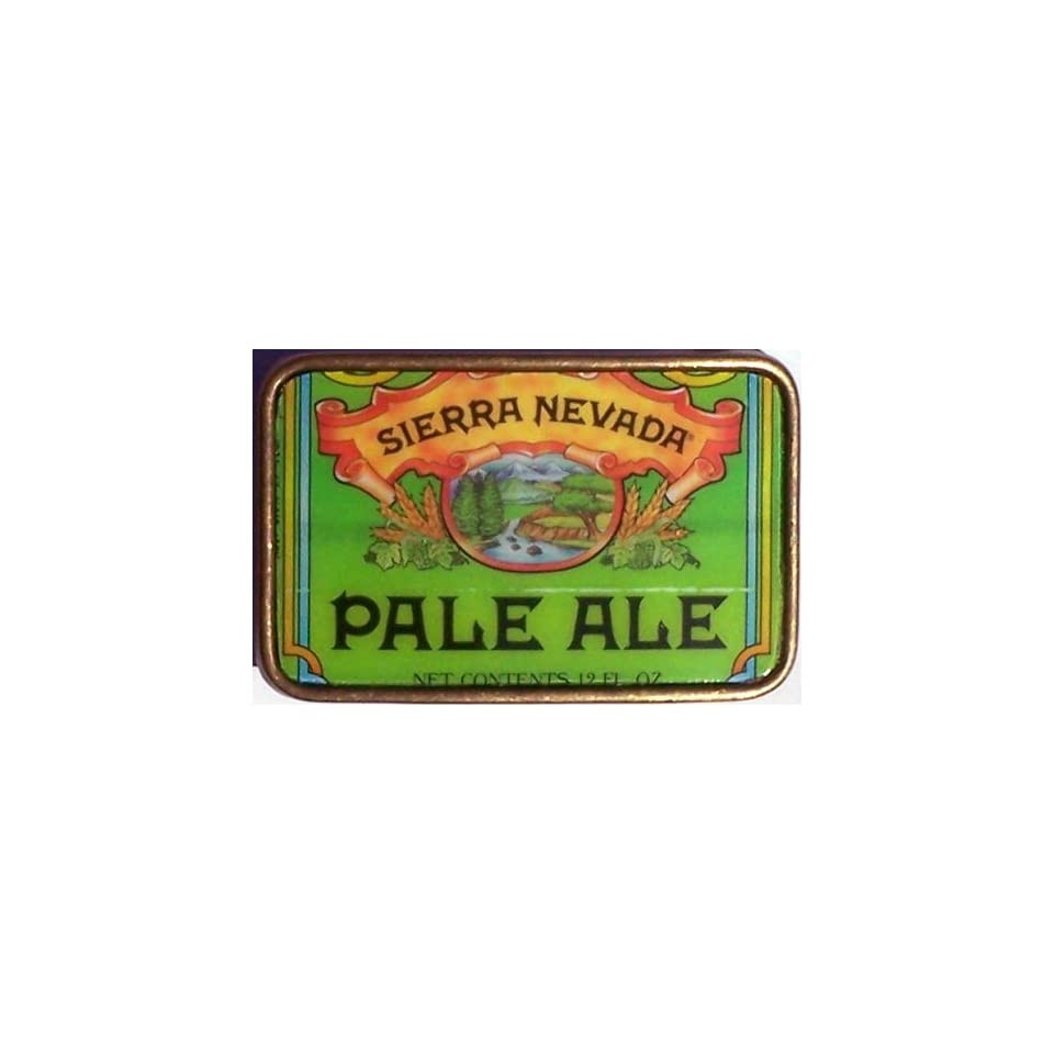Hand Made Vintage Style SIERRA NEVADA PALE ALE Beer Can Belt Buckle