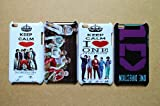 Wholesales 4pcs One Direction 1d fashion hard back cover skin case for Apple ipod touch 4 4th generation-it4od4029