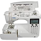 Juki HZL-F600 Computerized Sewing and Quilting Machine (Color: white)