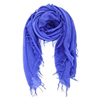 Chan Luu Cashmere and Silk Scarf in Baja Blue