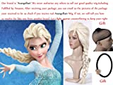 Free Hair Cap+ Princess Frozen Snow Queen Elsa Cosplay Wig Elsa Wig Costume Hair
