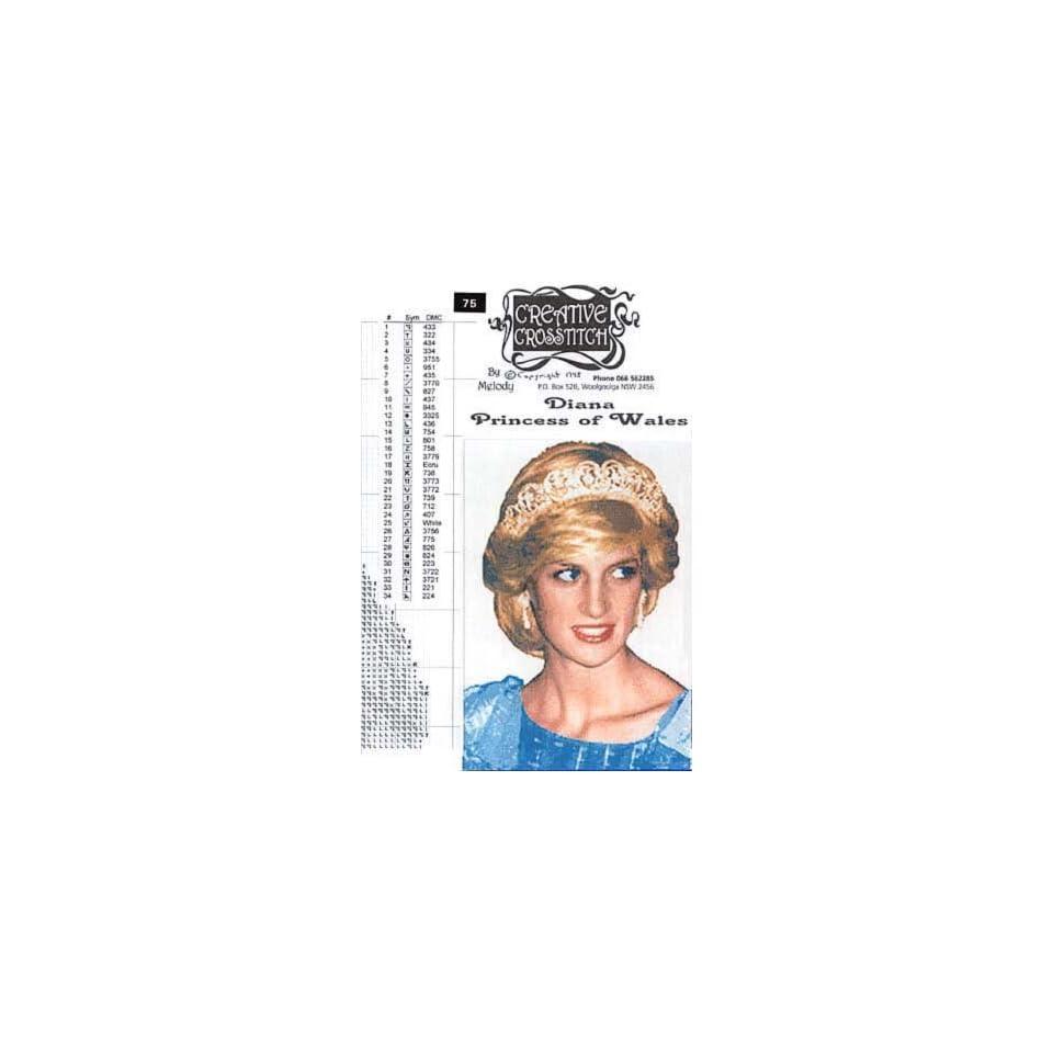 Princess Diana Cross Stitch Pattern