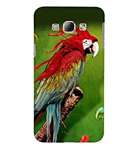 PRINTSWAG PARROT Designer Back Cover Case for SAMSUNG GALAXY A8