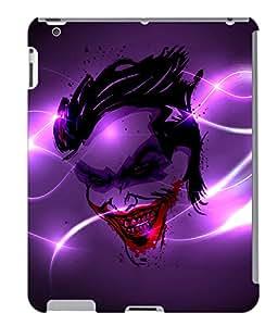 Fuson 3D Printed Ghost Designer back case cover for Apple iPad 3 - D4498
