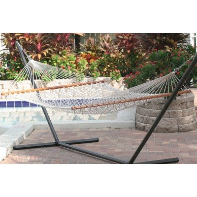 Smart Garden 50404-Ntp Cancun Premium Double Rope Hammock,