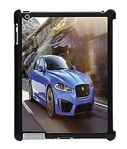 Fuson 2D Printed Car Designer Back Case Cover for Apple iPad 3 - D671