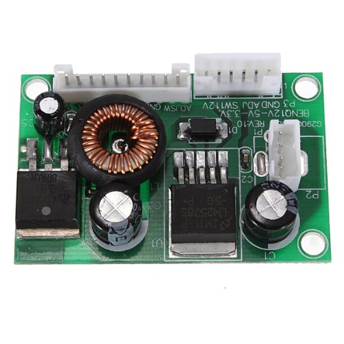 Dc To Dc Converter Step-Down Voltage Led Power Module 3A 12V - 5V 3.3V