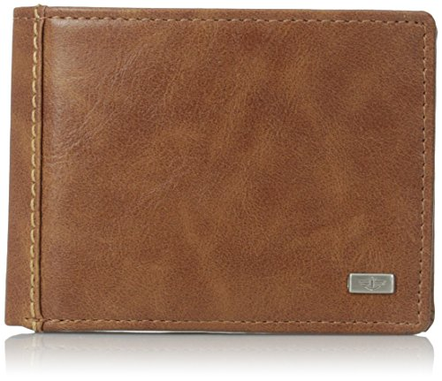 dockers-mens-essential-slimfold-wallet-tan-one-size