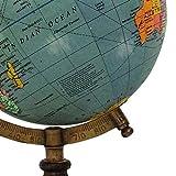 13 decorativo azul océano globo giratorio Geografía decoración de la tabla de la Tierra