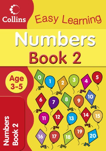 Numbers Age 3-5: Book 2 (Collins Easy Learning Age 3-5) PDF
