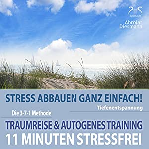 11 Minuten Stressfrei - Stress abbauen ganz einfach Hörbuch