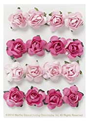 Martha Stewart Crafts Dimensional Paper Rose Embellishment