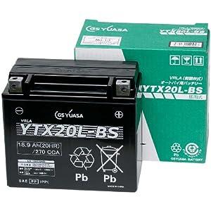GS YUASA [ ジーエスユアサ ] シールド型 バイク用バッテリー YTX20L-BS