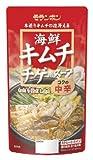 モランボン 海鮮キムチチゲ用スープコクの中辛 750g×10袋