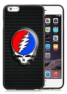 Grateful Dead Case iPhone 6S Plus,Grateful Dead Cover For Iphone 6s plus Black TPU