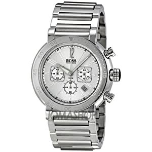 Hugo Boss Chronograph Silver Dial Mens Watch HB1512251