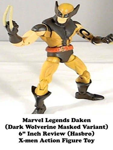 "Marvel Legends DAKEN (Dark Wolverine Masked Variant) 6"" inch review (Arnim Zola BAF series) X-men action figure toy"