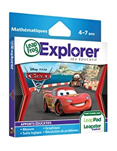 Leapfrog  89010 -  Jeu Educatif Electronique - LeapPad / Leapster Explorer - Cars 2