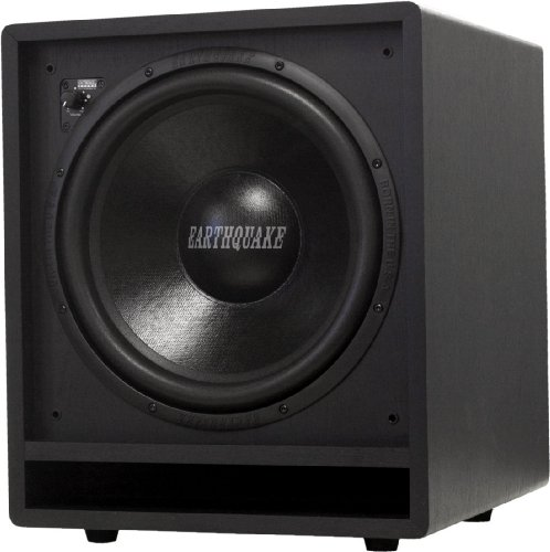Earthquake Sound Ff12 Front Firing Subwoofer (Black, Single)