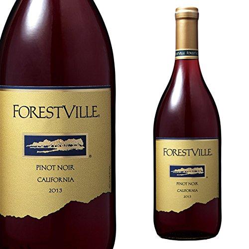 【お酒】 フォレストヴィル ピノノワール (赤) 750ml [Forest Ville Pinot Noir][アメリカ・カリフォルニア]