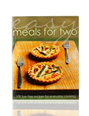 Easy Meals for Two Book