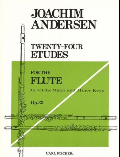 Twenty-Four Etudes for Flute, Op. 33