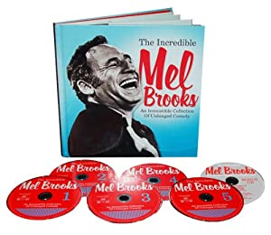 The Incredible Mel Brooks An Irresistible Collection Of Unhinged Comedy from Shout! Factory