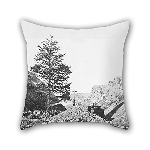 20 X 20 Inch / 50 By 50 Cm Oil Painting A.J. Russell - American - Thousand Mile Tree, Wilhemina's Pass Pillow Cases ,twice Sides Ornament And Gift To Home Theater,dining Room,boys,play Room,office (Aj Lee Sex compare prices)