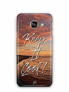 YuBingo Keep It Cool Designer Mobile Case Back Cover for Samsung Galaxy A3 2016