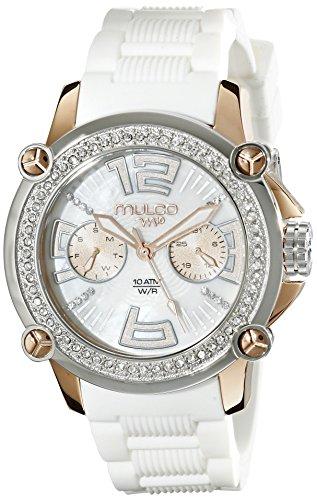 De silicona reloj de pulsera de cristal de Mulco MWATCH MW2 - 28086S -011