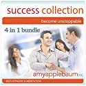 The Success Collection - Become Unstoppable: Self-Hypnosis and Meditation, 4-in-1 Bundle Speech by Amy Applebaum Narrated by Amy Applebaum
