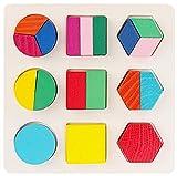 (エイチケーエイチ) HKH 遊んで学ぼう 知育 遊具 木製 形合わせ はめ込み パズル キッズ 子供 おもちゃ 図形 勉強 (C)