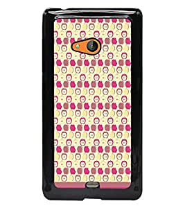 PrintDhaba Pattern D-1615 Back Case Cover for MICROSOFT LUMIA 540 (Multi-Coloured)