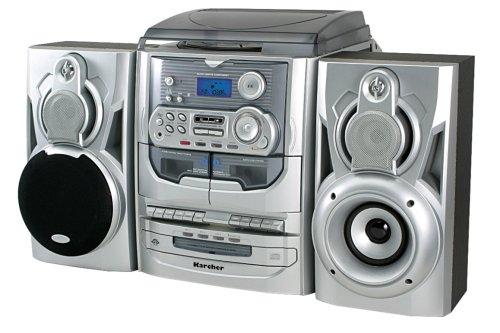 karcher ka 5300 kompaktanlage mit 3 fach cd wechsler. Black Bedroom Furniture Sets. Home Design Ideas