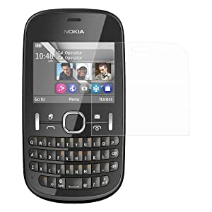 Ostriva UltraClear Screen Protector for Nokia Asha 200