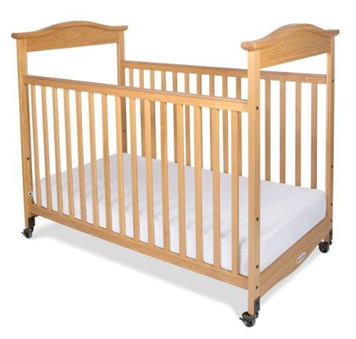 Foundations Biltmore Full Sized Clearview Crib, Natural - 1