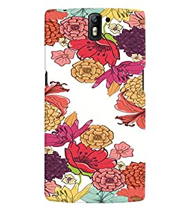 GADGET LOOKS PRINTED BACK COVER FOR ONE PLUS ONE MULTICOLOR