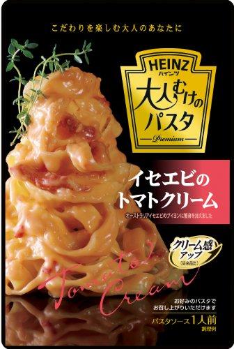 ハインツ 大人むけのパスタ イセエビのトマトクリーム 130g×4袋
