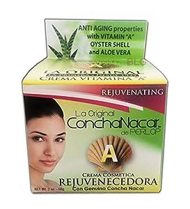 Concha Nacar De Perlop Vitamin A Cream, 4 Ounce