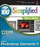 img - for Photoshop Elements 9: Top 100 Simplified Tips and Tricks book / textbook / text book