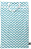 Planet Wise Hanging Wet/Dry Diaper Bag, Teal Chevron